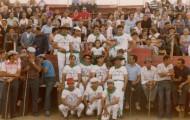 Foto de la peña la chispa de Mayorga 1980