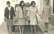 Chicas en Mayorga 1965