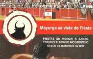 Portada programa fiestas Mayorga 2009