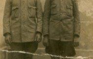 Santiago Trigueros servicio militar 1935