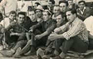 Fiestas de Mayorga sentados 1967