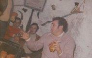 Foto en la peña el Silencio de Mayorga 1979