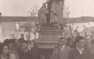 Foto en la Procesion Santo Toribio Mayorga 1950
