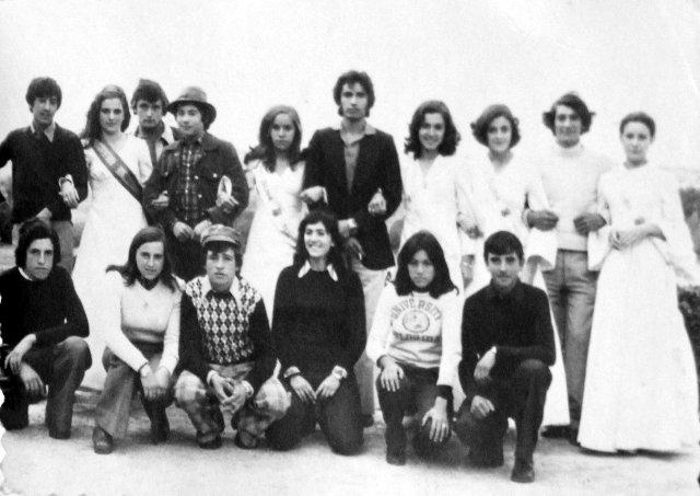 Reina Damas y otros en Mayorga 1974