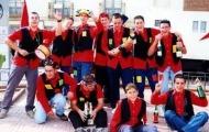 Foto de las fiestas de Mayorga. Peña La Estampida 2001 Mayorga