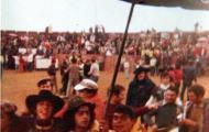 Mayorganos en la plaza de toros 1979