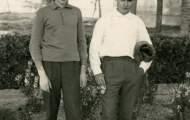 Mariano el Rubio y Jose Manuel Trigueros 1965 Mayorga