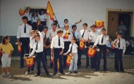 Banda de música Mayorga 1986 2