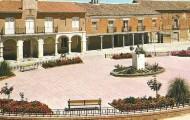 Panoramica plaza españa Mayorga