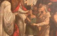 Pintura de Santo Toribio mandada hacer por Dean Saavedra