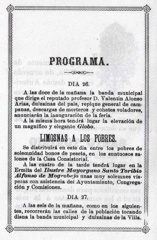 Programa Fiestas Mayorga 1984 02