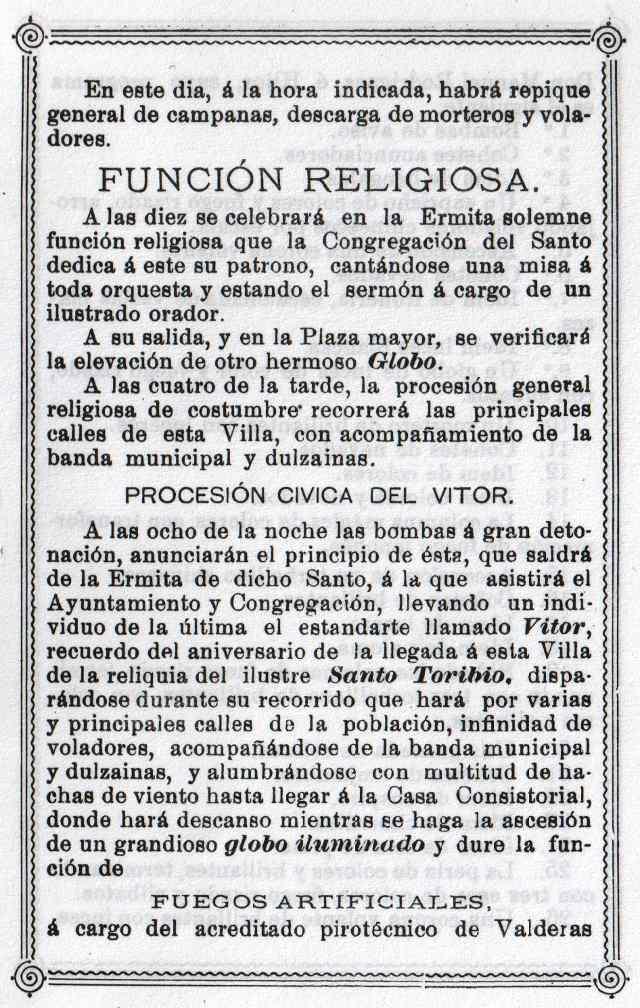Programa Fiestas Mayorga 1984 03