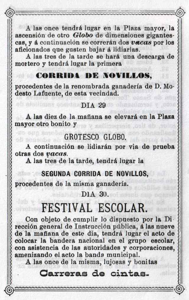 Programa Fiestas Mayorga 1984 06