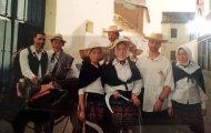 Foto de labradores en el Carnaval Mayorga 2000