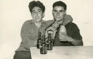 Isaac y Jose Manuel en Mayorga