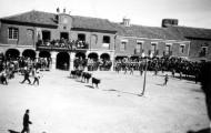 Panorámica de la Plaza de toros Mayorga 1960