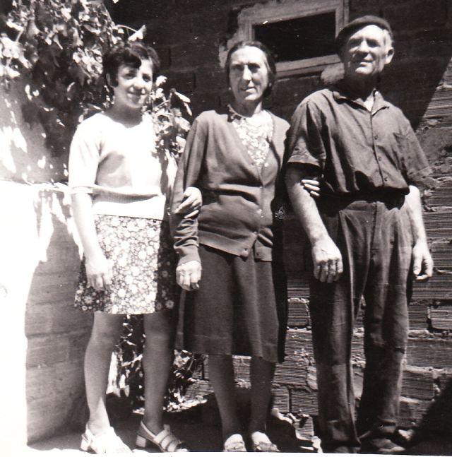 Goyi y los abuelos 1967 Mayorga