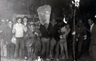 El silencio en el Vitor Mayorga 1978