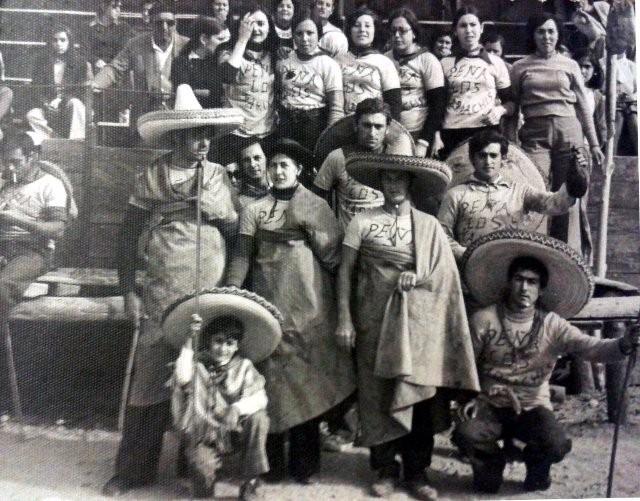 Peña Los mariachis en las fiestas de Mayorga