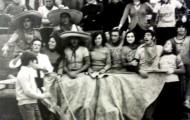 Peña Los mariachis en la plaza de toros de Mayorga