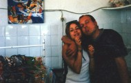 Marta y Pitin bar piscina Mayorga 1999
