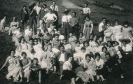 Mozos y mozas mayorganos. 1962