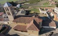 Foto aérea Iglesia Santa María de Arbas Mayorga