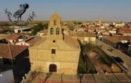 Ermita Santo Toribio desde el aire Mayorga