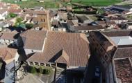 Iglesia de Santa Marina Mayorga 2014 vista aérea