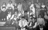 Participantes de la Corderada de Mayorga años 70 u 80