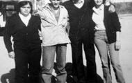 Foto de los quintos de Mayorga 1980