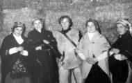 Algunos integrantes de la Corderada de Mayorga