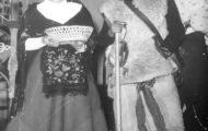 Hermanos Fernández en la representación de la Corderada de Mayorga