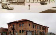 Comparativa colegio de Mayorga antes y en 2017