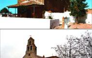Otra foto comparativa de como ha cambiado la ermita de Santo Toribio